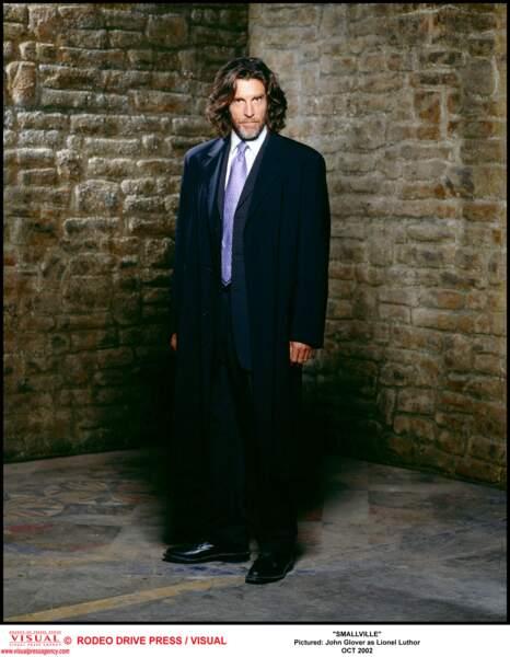 John Glover incarnait Lionel Luthor, le papa de Lex