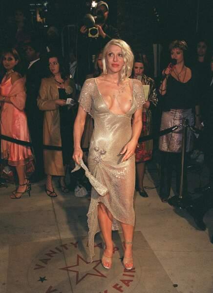 Courtney Love à la 73e cérémonie des Oscars en 2001