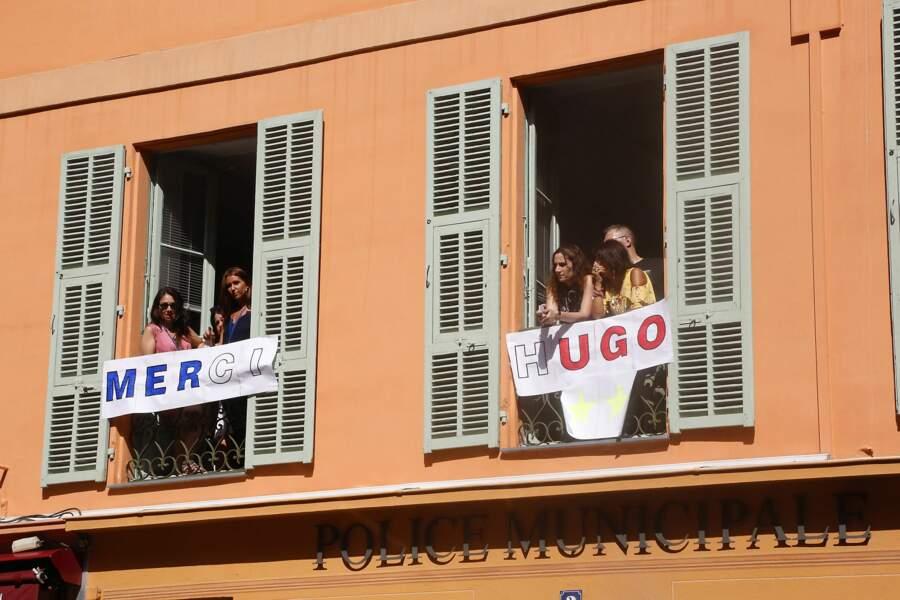 Hugo Lloris remercié par les fans niçois pour sa victoire durant la Coupe du monde