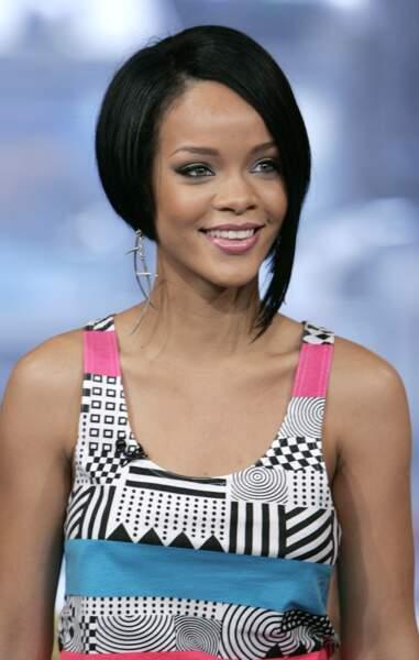 Le carré asymétrique de Rihanna