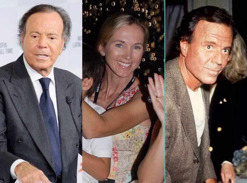 Julio Iglesias aujourd'hui à 72 ans et à 51 ans, l'âge actuel de sa femme Miranda