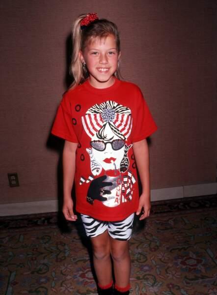 Jodie Sweetin était l'une des enfants stars de La fête à la maison, elle y a joué de ses 5 ans à ses 13 ans
