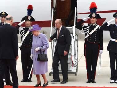 La reine Elizabeth II en visite au Vatican