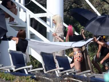 PHOTOS Lady Gaga : les coulisses ULTRA HOT de son shooting en lingerie révélées