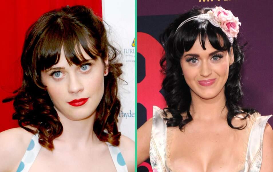 Zooey Deschanel et Katy Perry