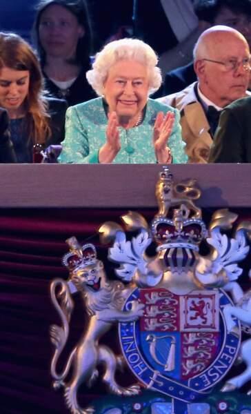 L'anniversaire de la reine d'Angleterre au château de Windsor