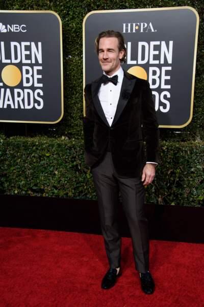 76ème cérémonie des Golden Globes : James Van Der Beek