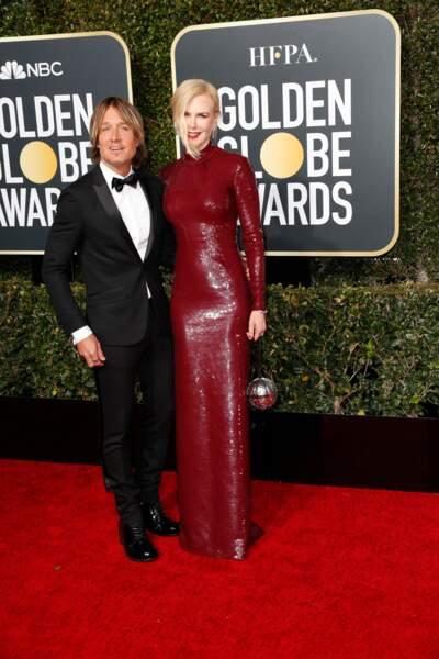 76ème cérémonie des Golden Globes : Nicole Kidman et Keith Urban