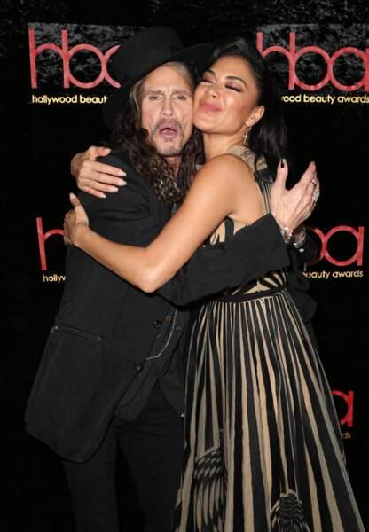 Steven Tyler et Nicole Scherzinger aux Hollywood Beauty Awards