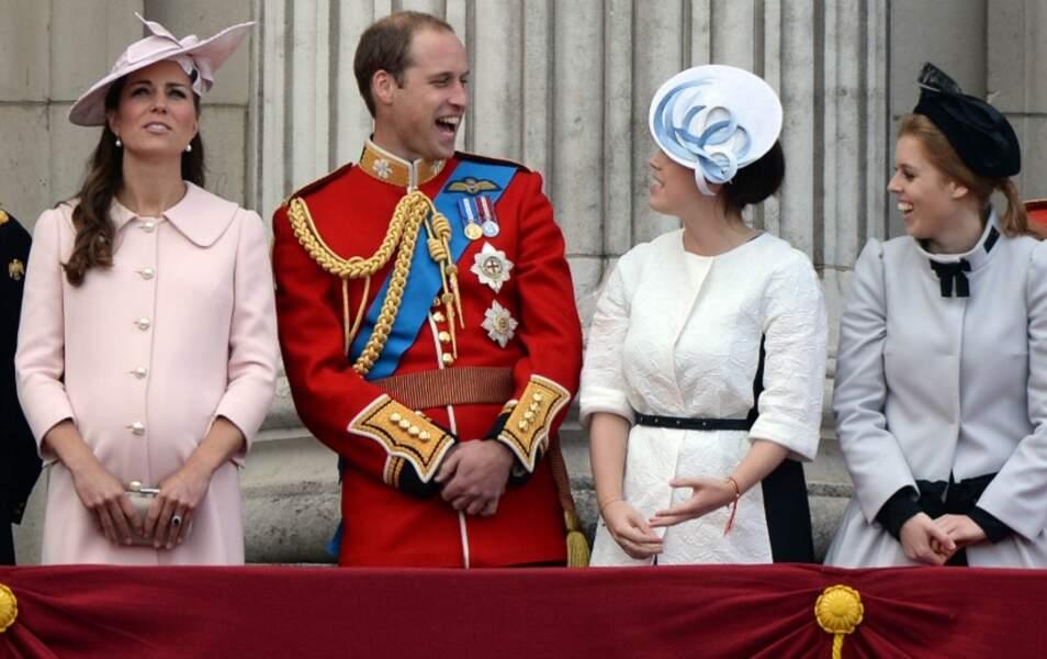Kate et le prince William