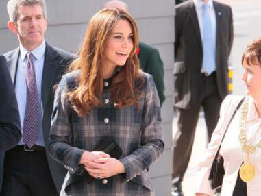 Kate Middleton ose le tartan en Ecosse
