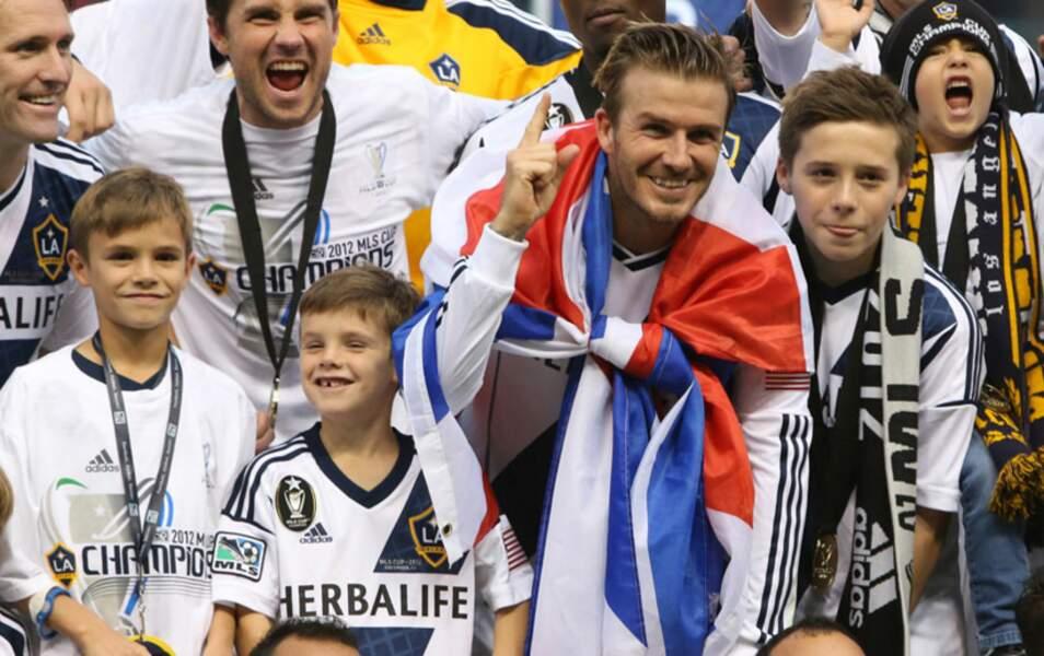 Romeo, Cruz, David, Brooklyn Beckham