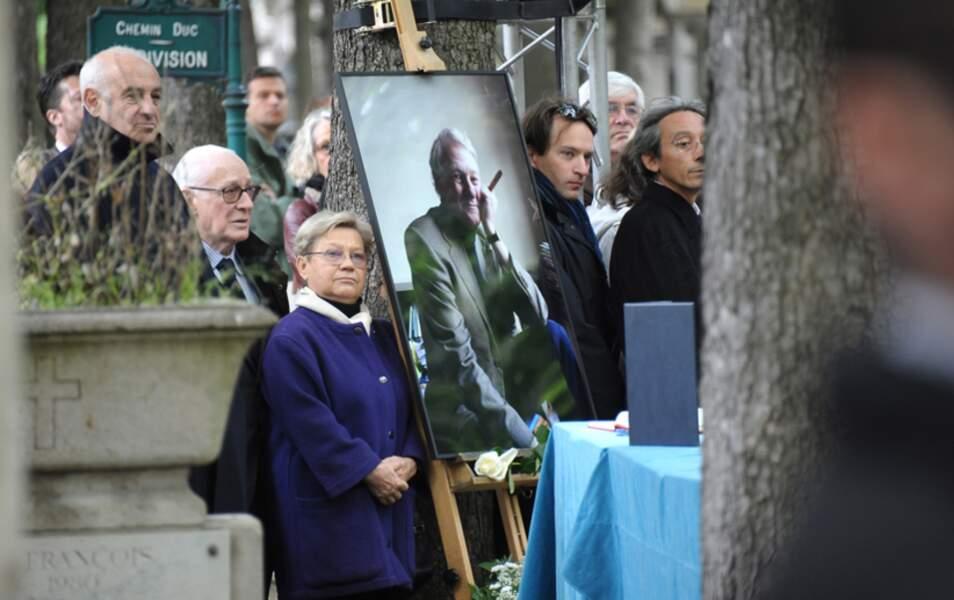 Les obsèques du constitutionnaliste Guy Carcassonne décédé à l'âge de 62 ans