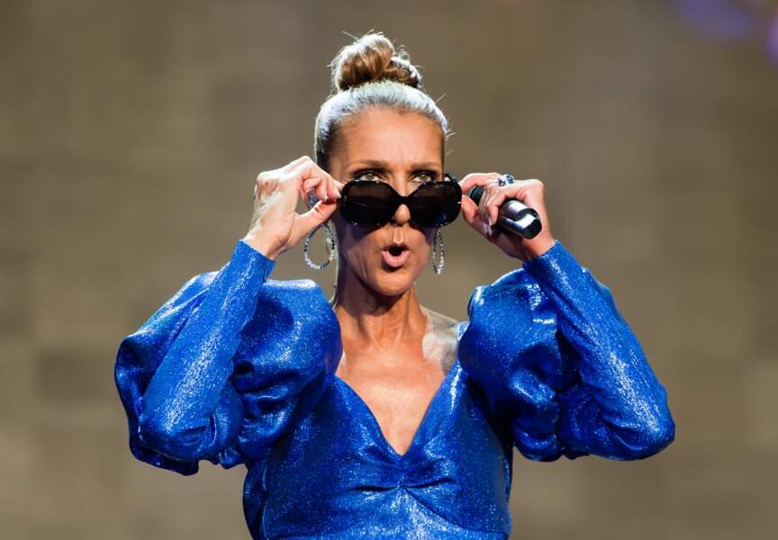 Sous le soleil londonien, Céline Dion était une nouvelle fois en très grande forme