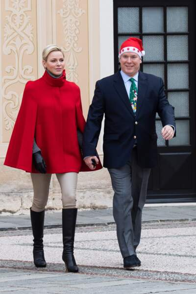 """Charlène de Monaco et Albert II, plus heureux que jamais pour """"L'arbre de Noël du Palais Princier"""" le 20 décembre"""