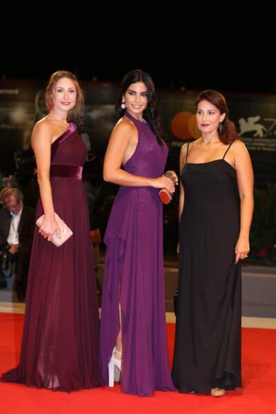 Présentation de L'insulte à la Mostra de Venise : Diamand Bou Abboud, Rita Hayek and Christine Choueiri
