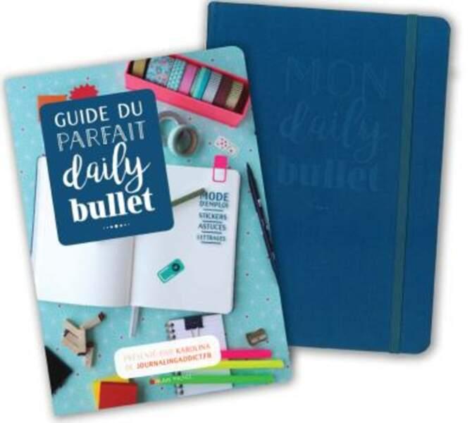 Tendance DIY : Guide du parfait daily bullet, avec préface de Karolina, un guide créatif + un carnet, éditions Albi