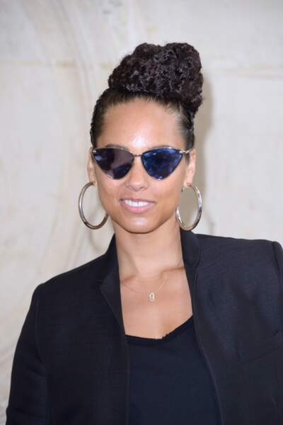 Alicia Keys au défilé Christian Dior