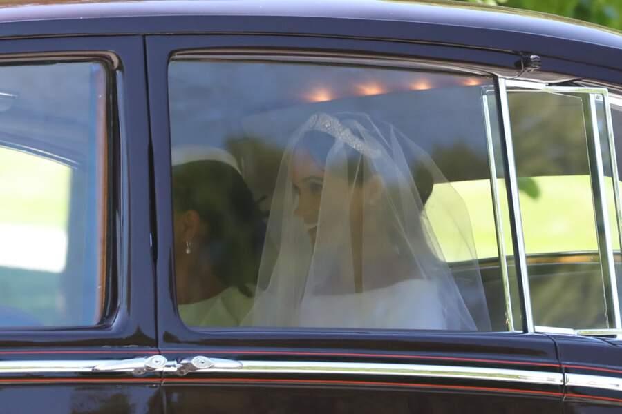 Royal wedding : l'arrivée de Meghan Makle avec sa mère Doria Ragland