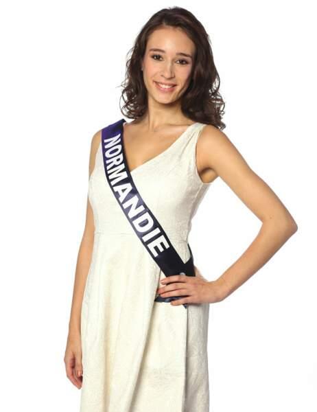 Miss Normandie - Ophélie Genest, 19 ans, 1m73