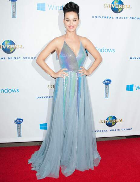 Katy Perry sur tapis rouge