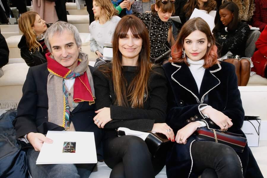 Défilé Chanel Haute Couture : Olivier Assayas, Caroline de Maigret et Alma Jodorowsky