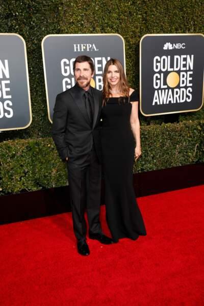 76ème cérémonie des Golden Globes : Christian Bale et Sibi Blazic