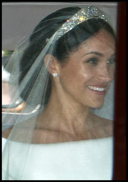 Mariage du prince Harry et Meghan Markle : la tiare prêtée par la reine Elizabeth II