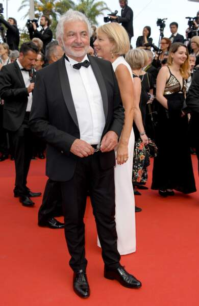 Cannes - Montée des Marches pour le 70ème anniversaire : Franck Provost