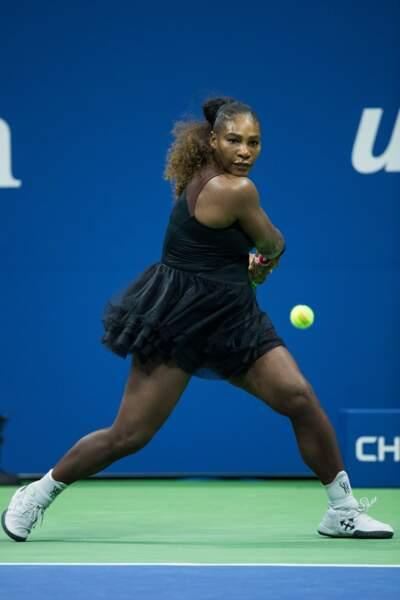 Serena Williams porte un tutu sur les cours de tennis, US OPEN 2018