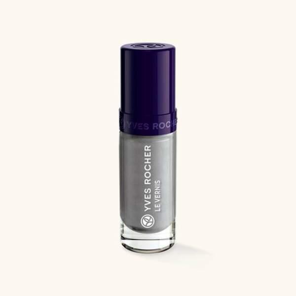50 façons de briller : Vernis couleur végétale effet métallisé, Yves Rocher, 2,95 euros
