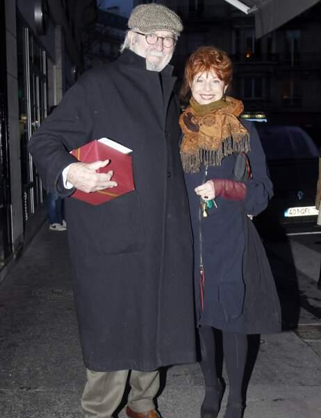 Jean-Pierre Marielle et Agathe Natanson
