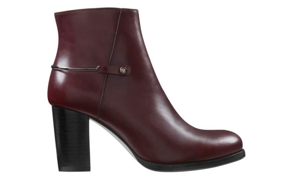 Boots en cuir, 159€, Minelli