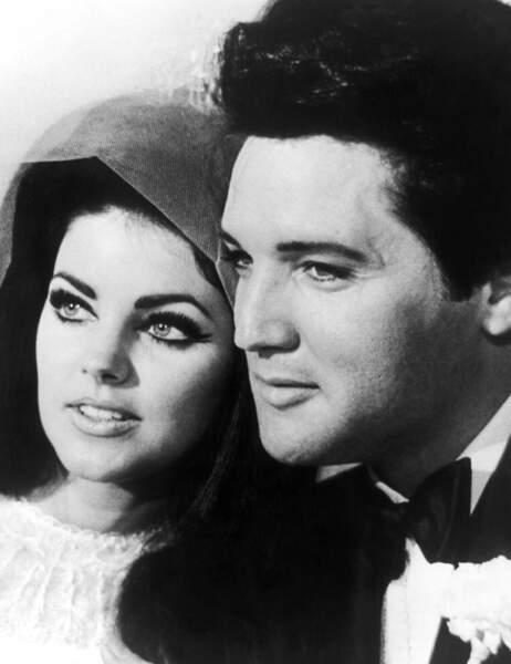 Priscilla Presley, le jour de son mariage avec le King...
