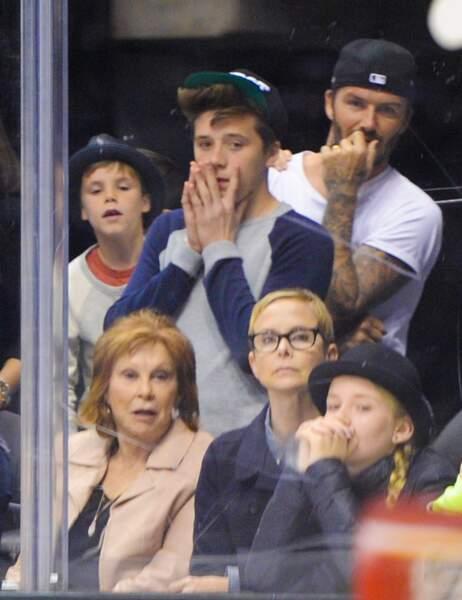 Ches les Beckham, le sport, c'est du sérieux