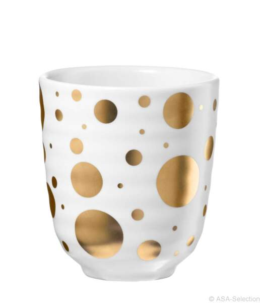 Gobelets expresso. Collection Doro, 24,90€ les 4, Ambiance & Styles.