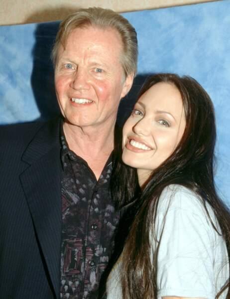 Angelina Jolie et son papa Jon Voight