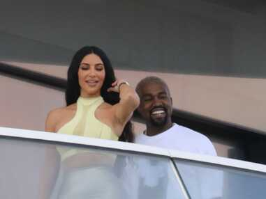 Kim Kardashian et Kanye West fous amoureux à Miami