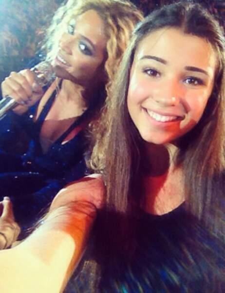 Beyoncé, la star sympa qui offre le selfie du siècle à une fan