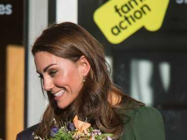 VOICI Kate Middleton : sublime dans sa robe verte, elle met tout le monde d'accord