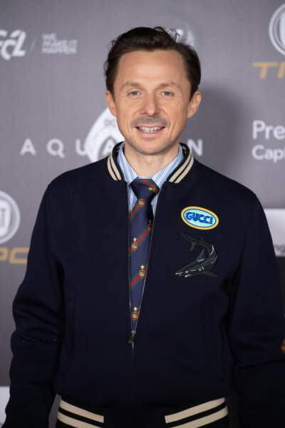 Martin Solveig à la cérémonie du 63e Ballon d'Or