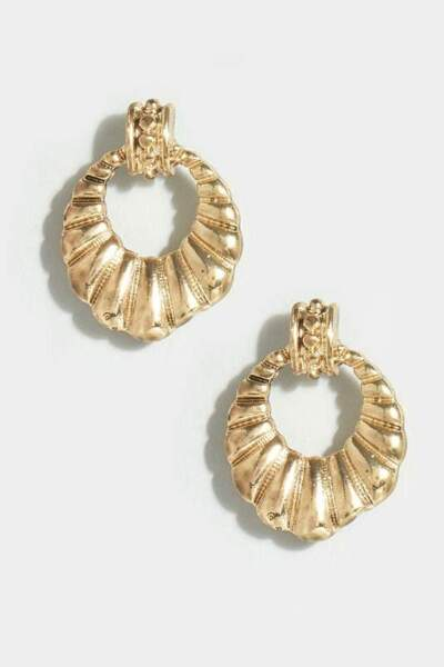Boucles d'oreilles coquillages, Yours, 7€