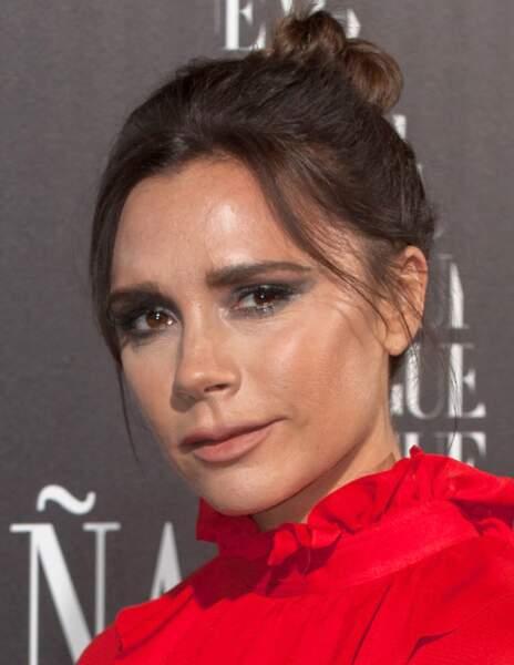Avant / Après chirurgie esthétique, c'est réussi : Victoria Beckham après
