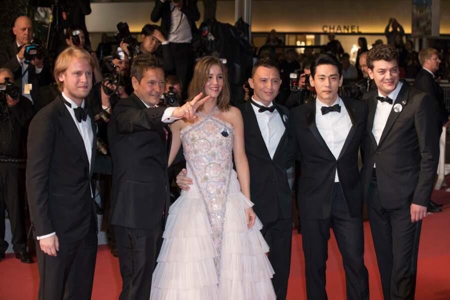 L'équipe du film Leto