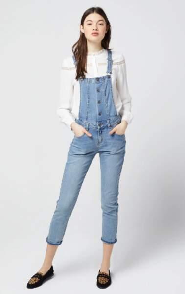 Salopette en jean, Etam, 59,99€