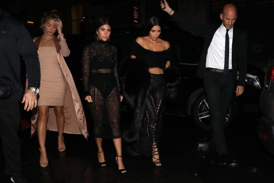 Kim Kardashian et sa soeur Kourtney