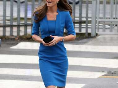 Kate Middleton rayonnante en bleu pour inaugurer un projet artistique