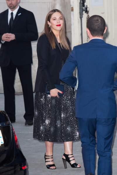 Alysson Paradis au défilé Chanel croisière 2018, le 3 mai au Grand Palais