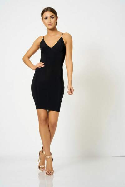 Mini robe noire, Topshop, 25€