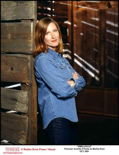 Annette O'Toole jouait Martha Kent